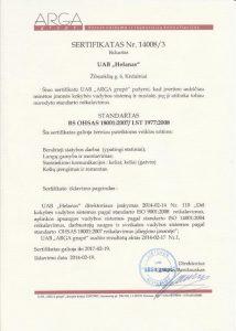 agra sertifikatas