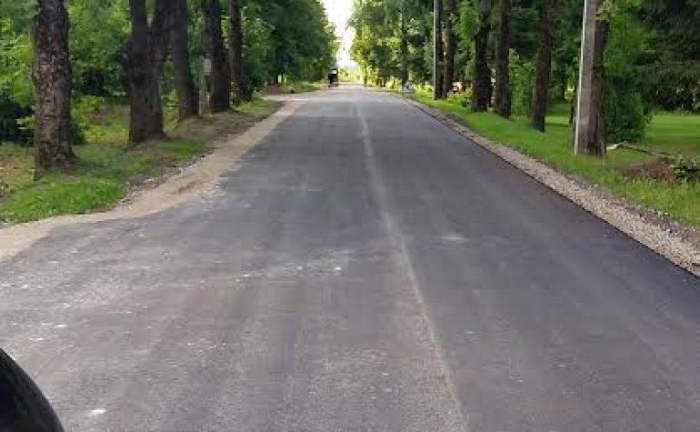 Uosių gatvės Gyliuose, Raseinių rajone kapitalinis remontas
