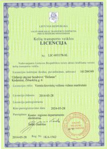 licencija